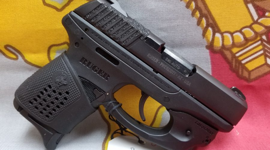 Ruger LC380 with Laser