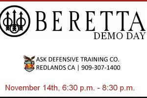 BerettaShotgun Demo
